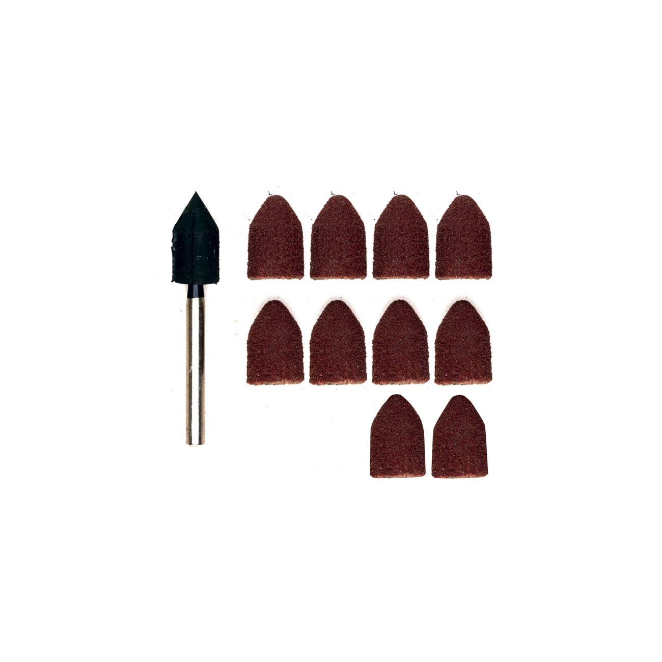 Image of 10 Cappucci abrasivi Proxxon Micromot 28987