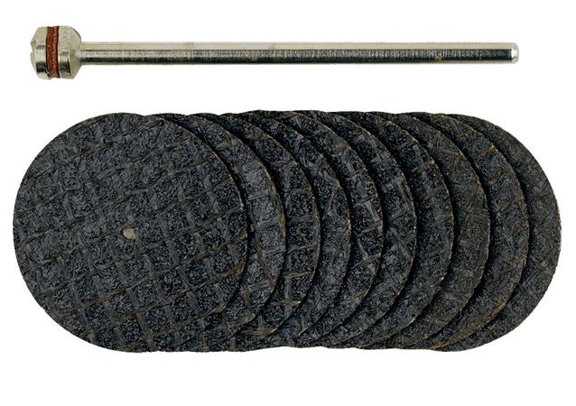 Image of 10 Dischi per troncare all'ossido di alluminio Proxxon 28808