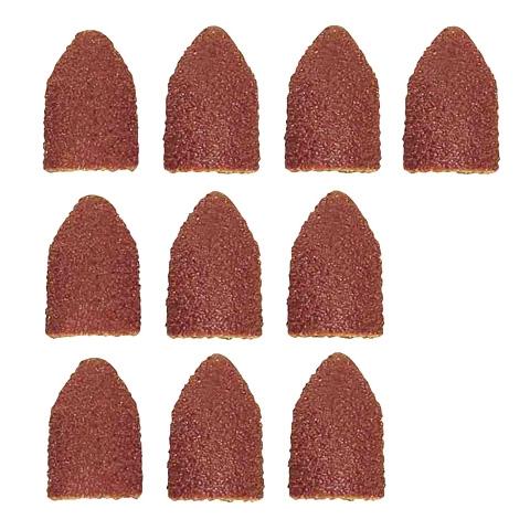 Image of 10 Cappucci abrasivi di ricambio Proxxon Micromot 28989