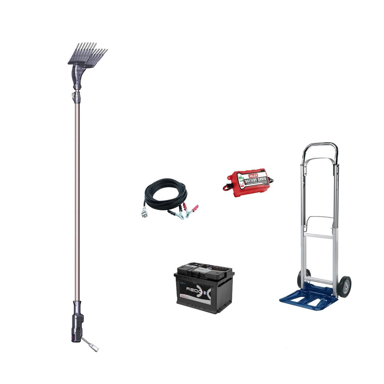 Image of Abbacchiatore elettrico AMA FURORE 81044 movimento battente - Kit Premium