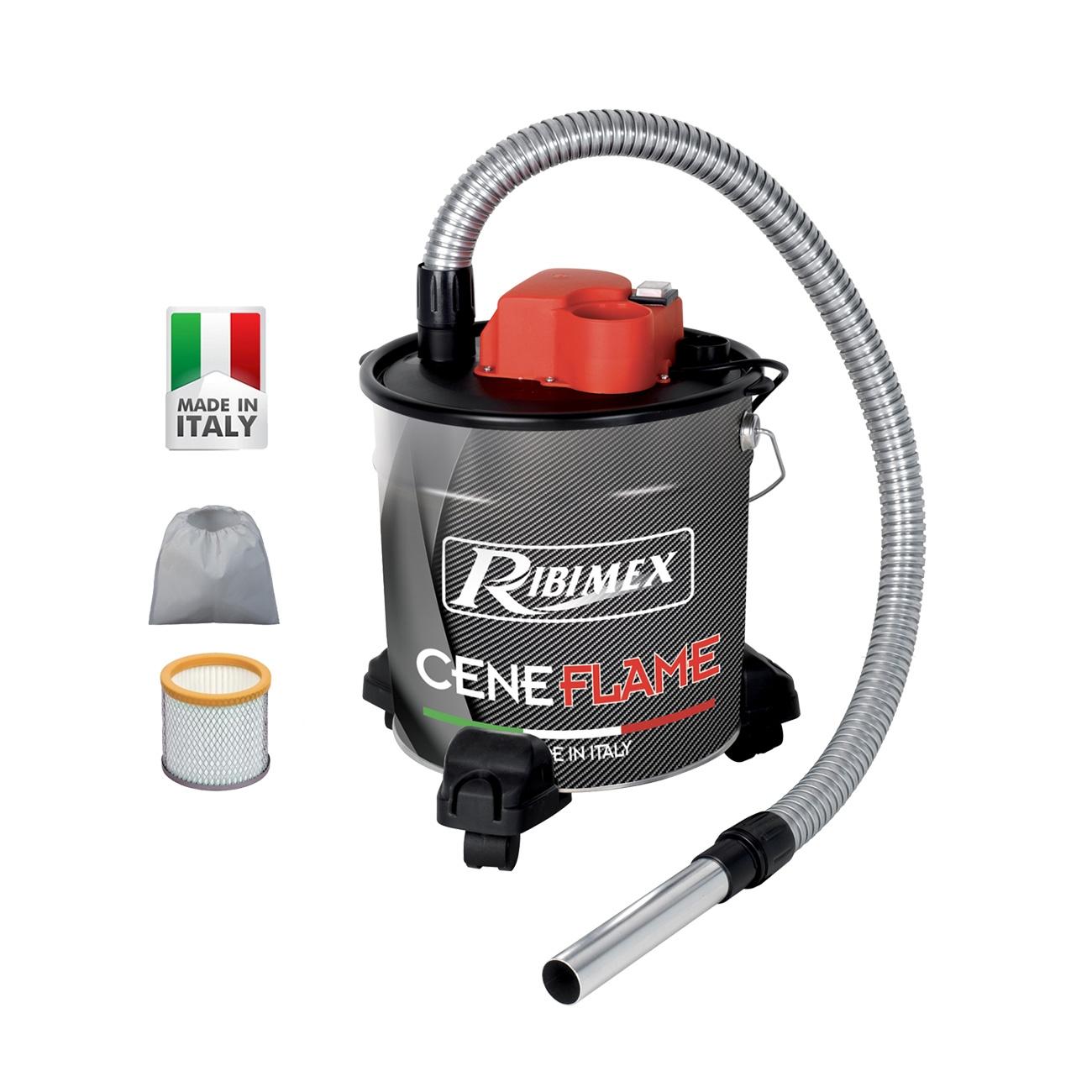 Image of Bidone Aspiracenere elettrico Ribimex Ceneflame 1200W