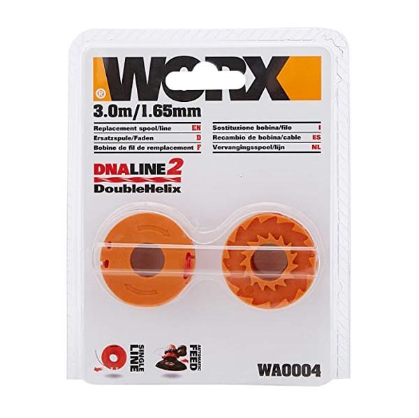 Image of Bobine di filo nylon Worx WA0004.1 per tagliabordi