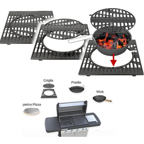 bbq a gas campingaz 4 series rbs lxs con forno piastra griglia culinary modula ebay. Black Bedroom Furniture Sets. Home Design Ideas