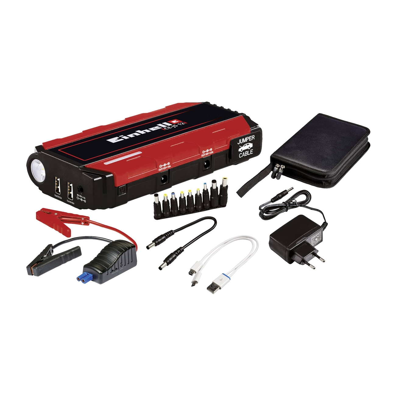 Image of Power bank Einhell CE-JS 18 Jump Start - Avviatore di emergenza auto