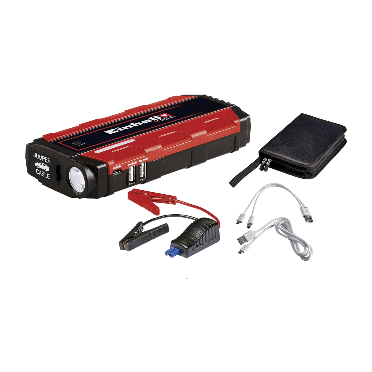 Image of Power bank Einhell CE-JS 8 Jump Start - Avviatore di emergenza auto