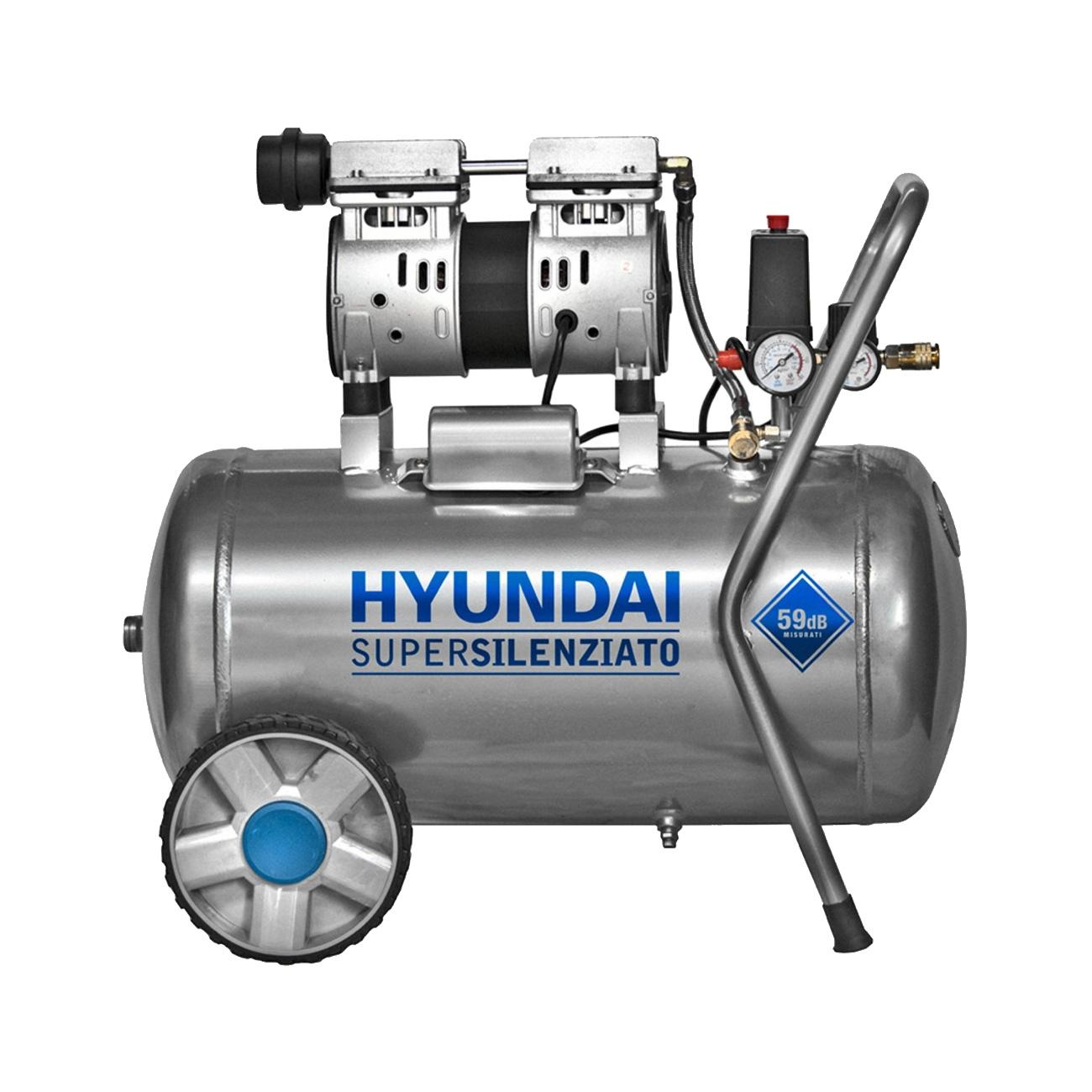 Image of Compressore aria 50 litri Hyundai KWU750-50L super-silenziato