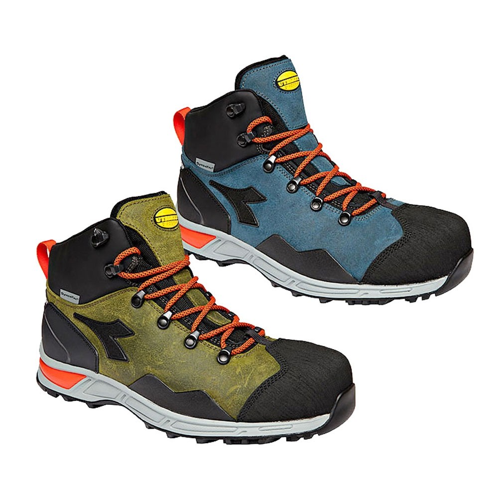 Scarpe Antinfortunistiche Diadora D Trail Leather Mid S3 HRO SRA WR
