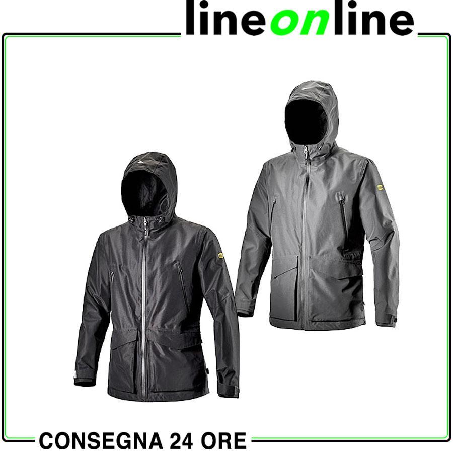 GIACCA DA LAVORO Geox Diadora Utility Rain jacket Tech 7971d40b1d8