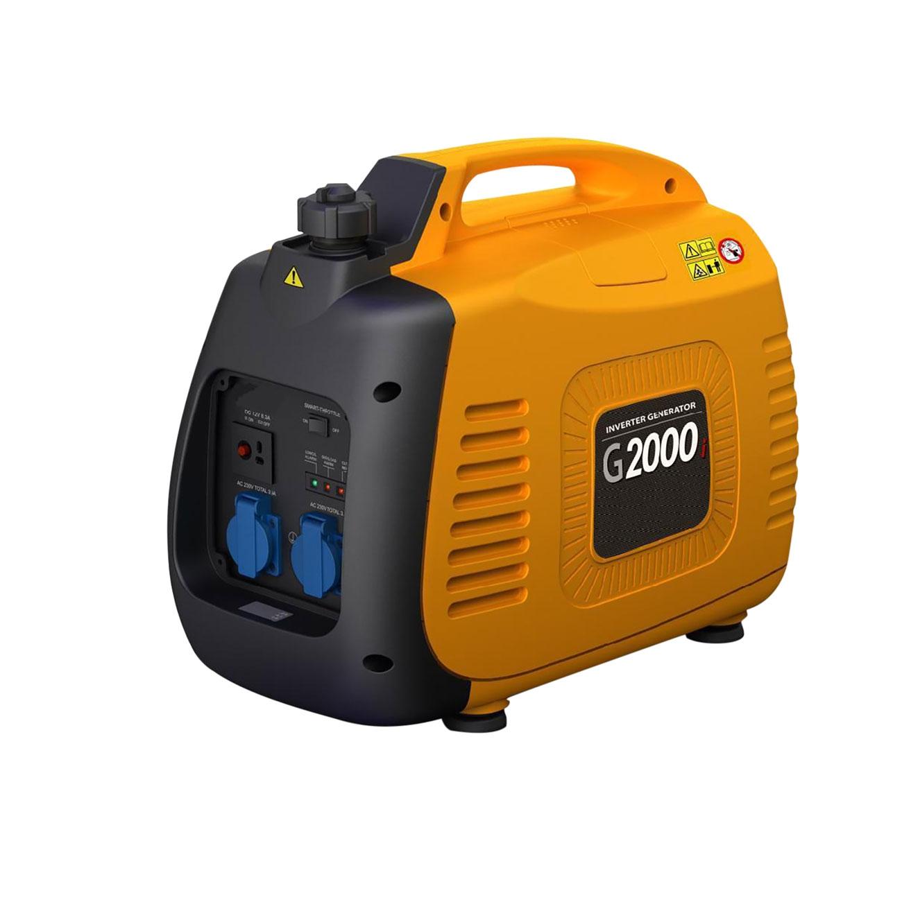 Generatore di corrente inverter 2 0 kw ama g2000i for Generatore di corrente lidl