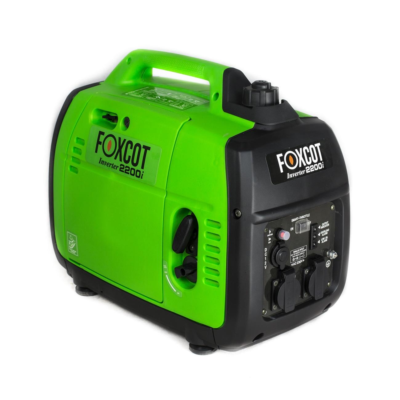 generatore di corrente inverter 2 2 kw foxcot gt 2200i ForGeneratori Silenziati Per Camper