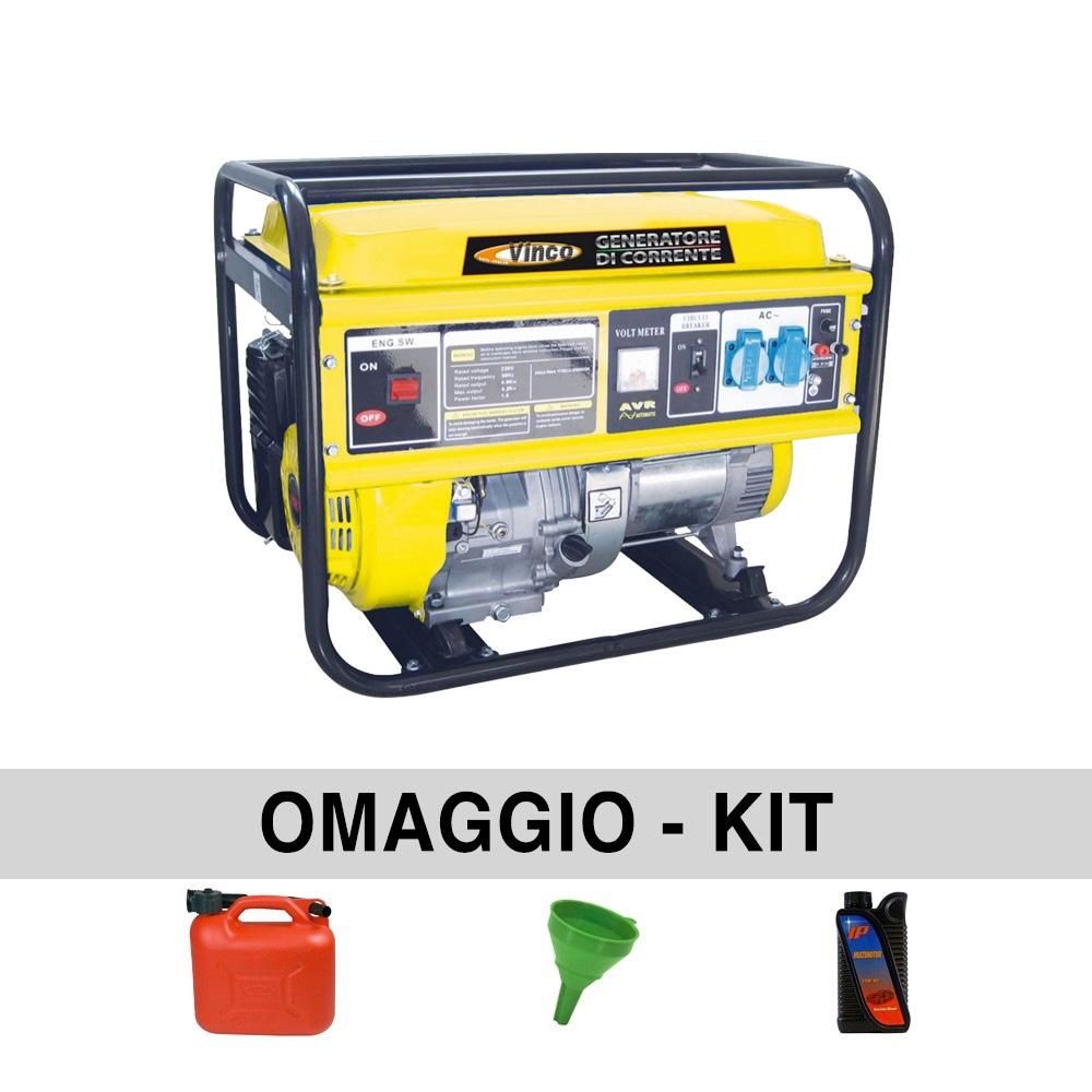 Image of Generatore di corrente 2,70 Kw VINCO BDL3000CXS