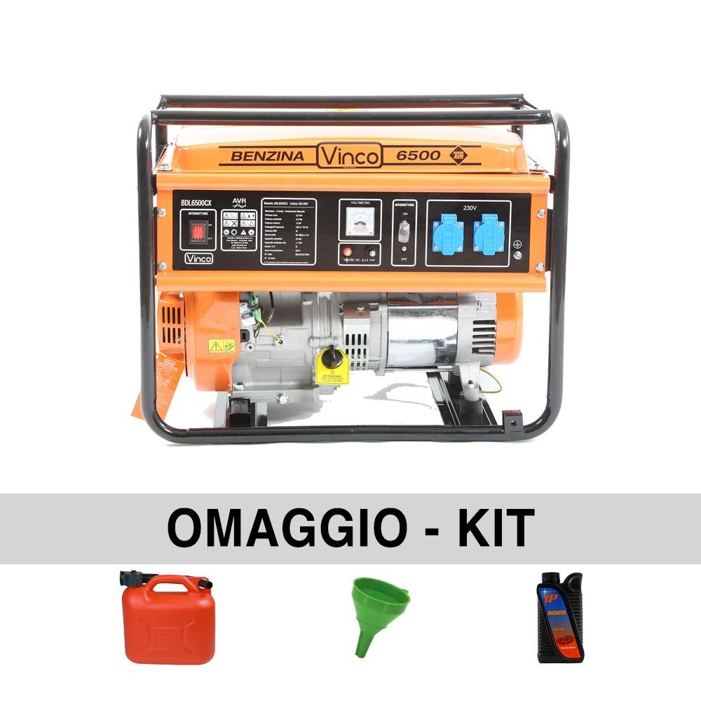 Image of Generatore di corrente 5,5 Kw VINCO BDL6500CX