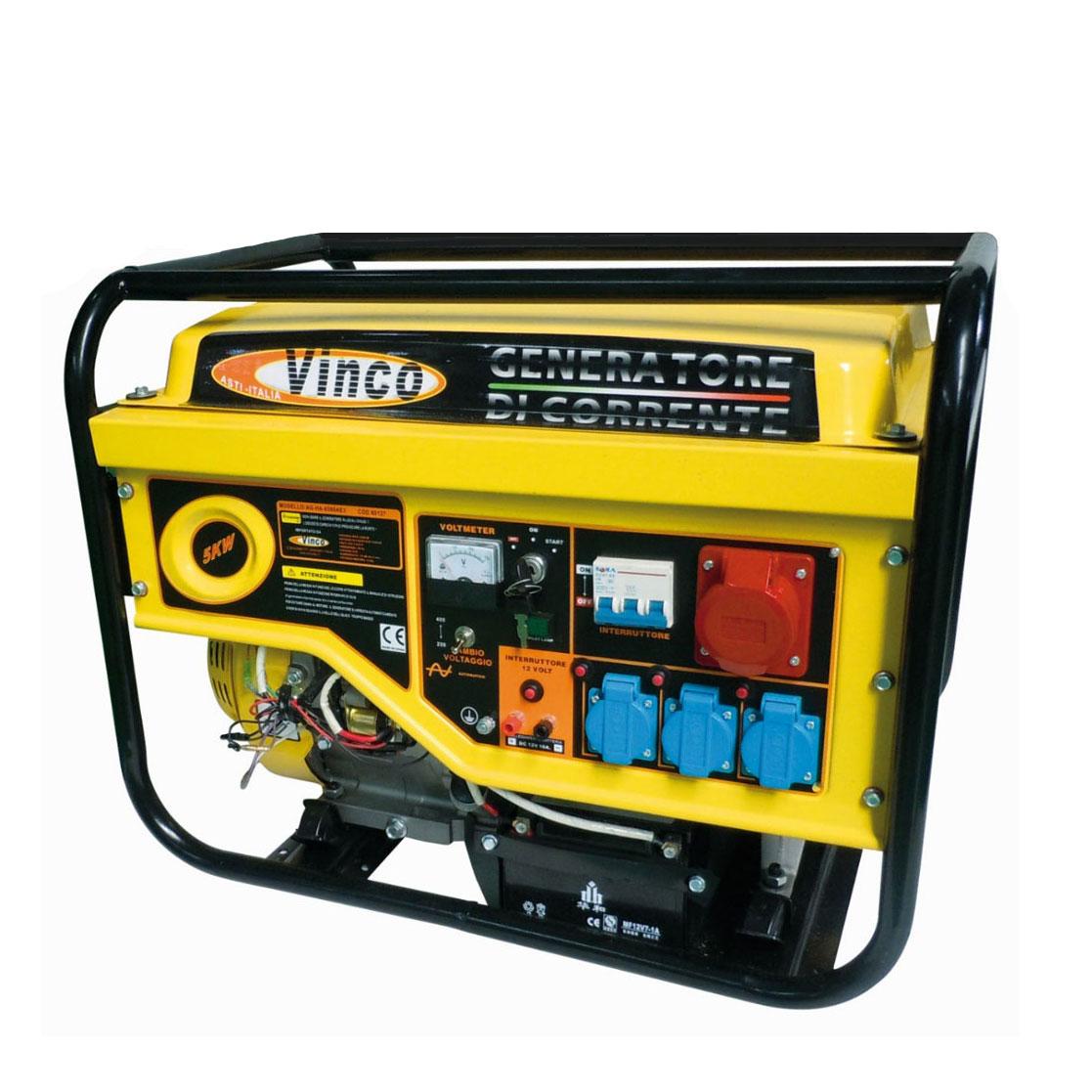 Generatore di corrente 5 kw trifase 1 60 kw monofase for Generatore di corrente lidl