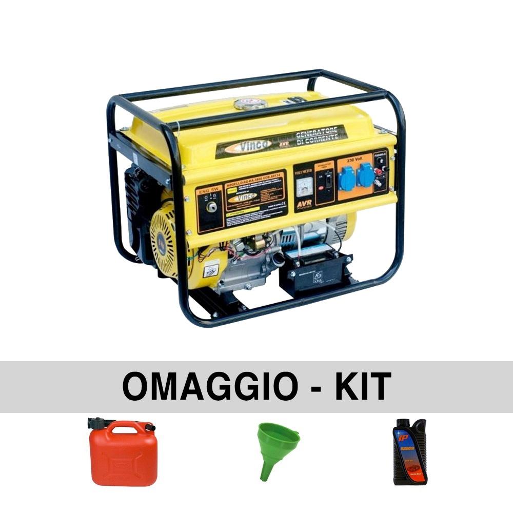 Generatore di corrente 3 10 kw vinco hh3800 ebay for Generatore di corrente 10 kw