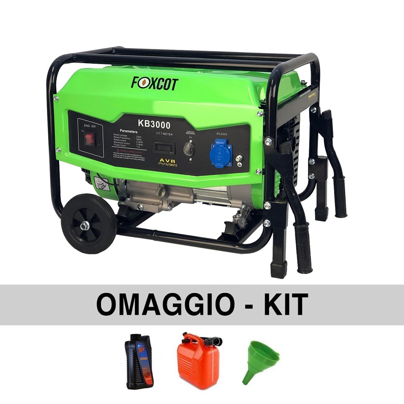 Image of Generatore di corrente 2,8 Kw Foxcot KB3000