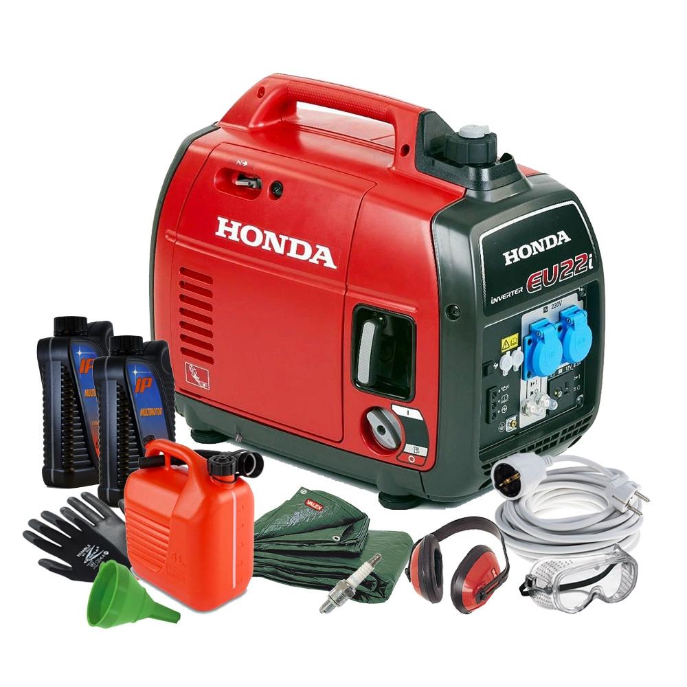 Generatore inverter honda eu22i silenziato 2 2 kw ex for Generatore honda eu20i usato