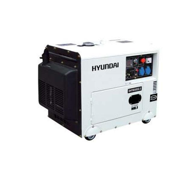 Generatore di corrente diesel 6 3 kw hyundai dhy8000se for Generatore di corrente wortex