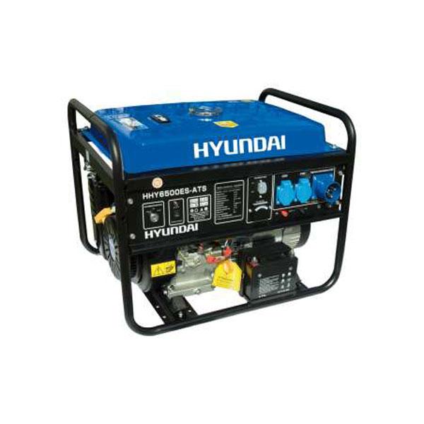 generatore di corrente 5 5 kw hyundai hy6500es ats ebay