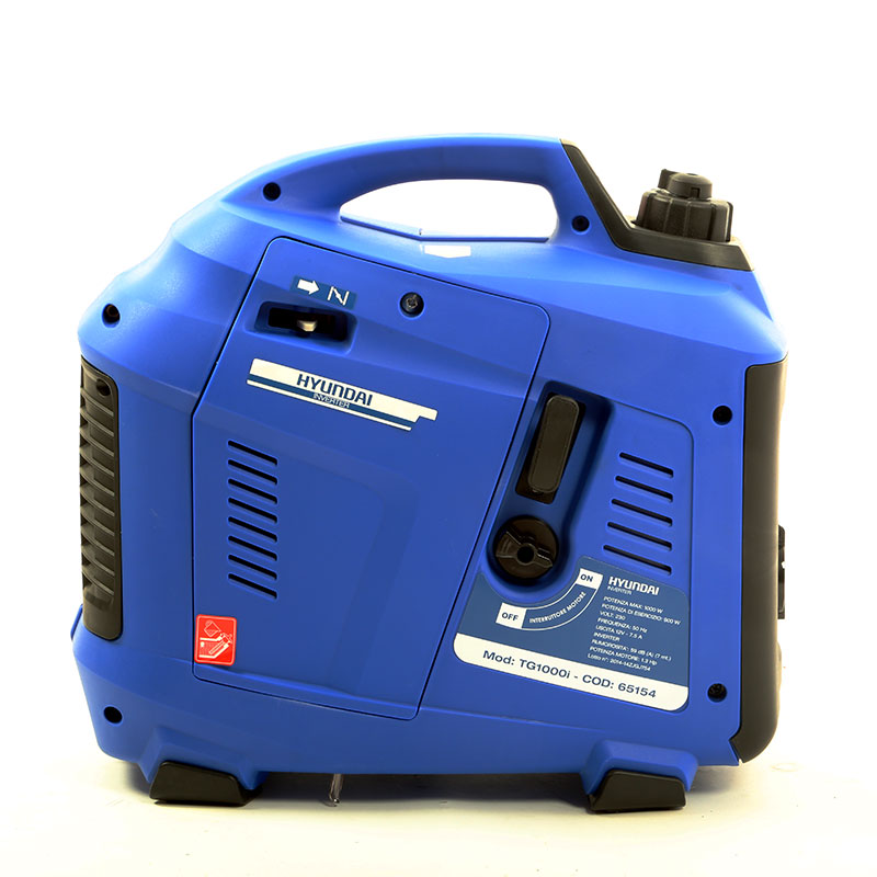 Generatore di corrente inverter 1 0 kw hyundai tg1000i for Generatore di corrente lidl
