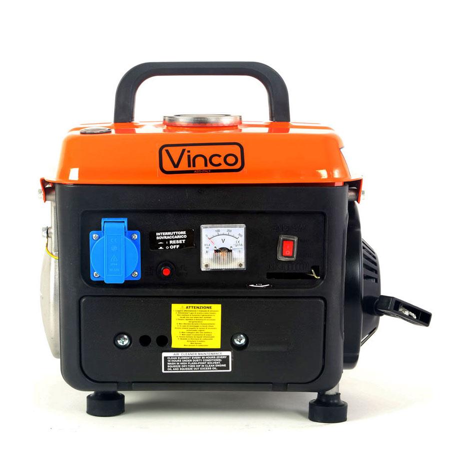 Generatore di corrente silenziato 0 85 kw vinco bdl1200 ebay for Generatore di corrente bricoman