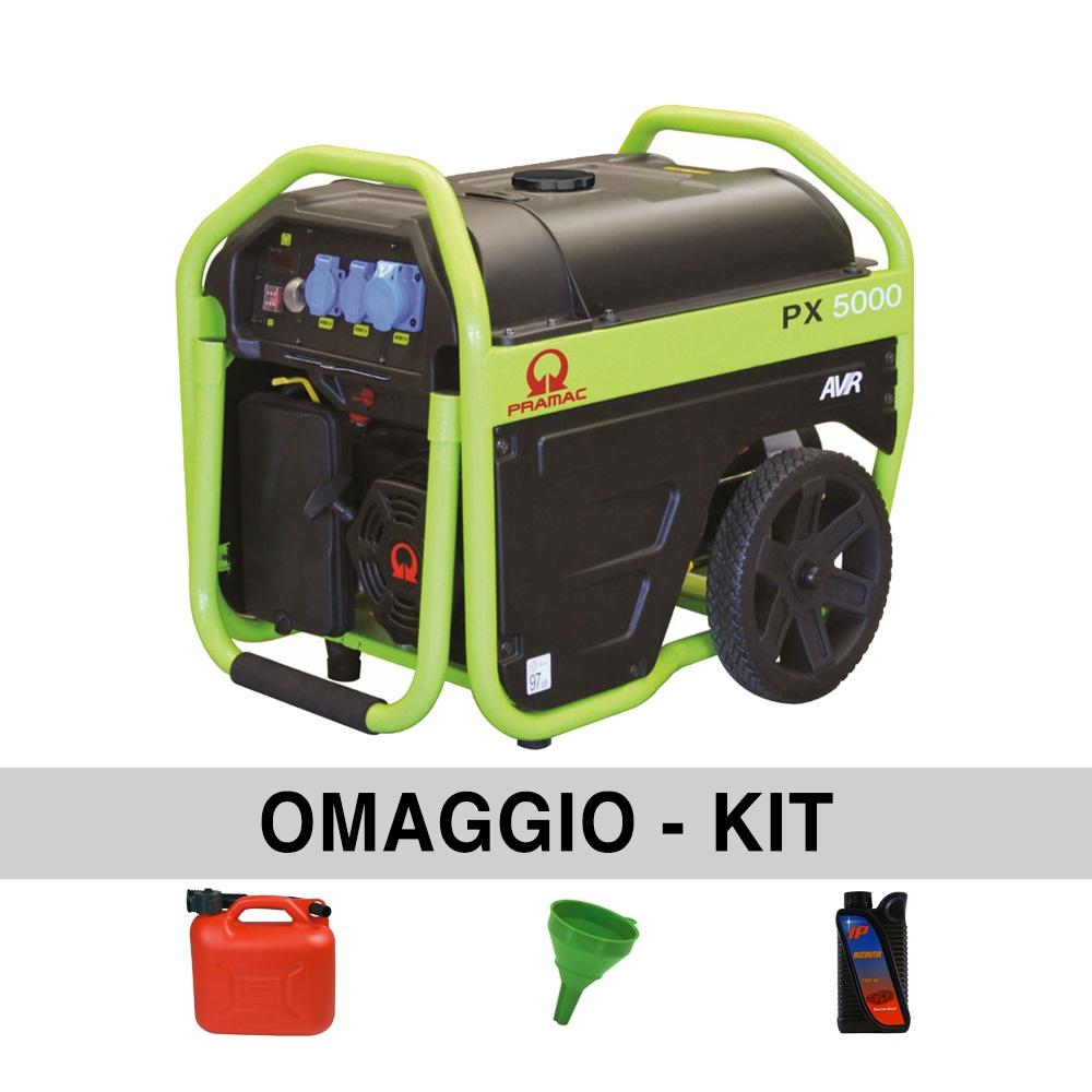 Image of Generatore di corrente 3,6 Kw PRAMAC PX5000
