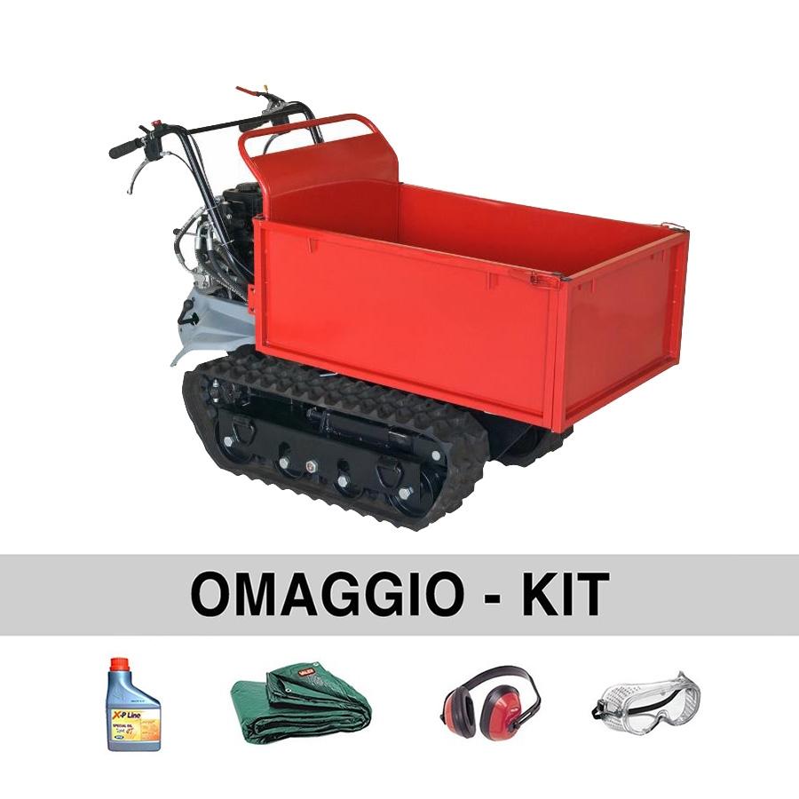 Image of Motocarriola cingolata AMA Dumper TAG500TL 500 kg