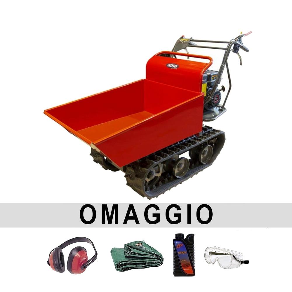 Image of Motocarriola cingolata AMA Dumper TAG300TD 300 kg
