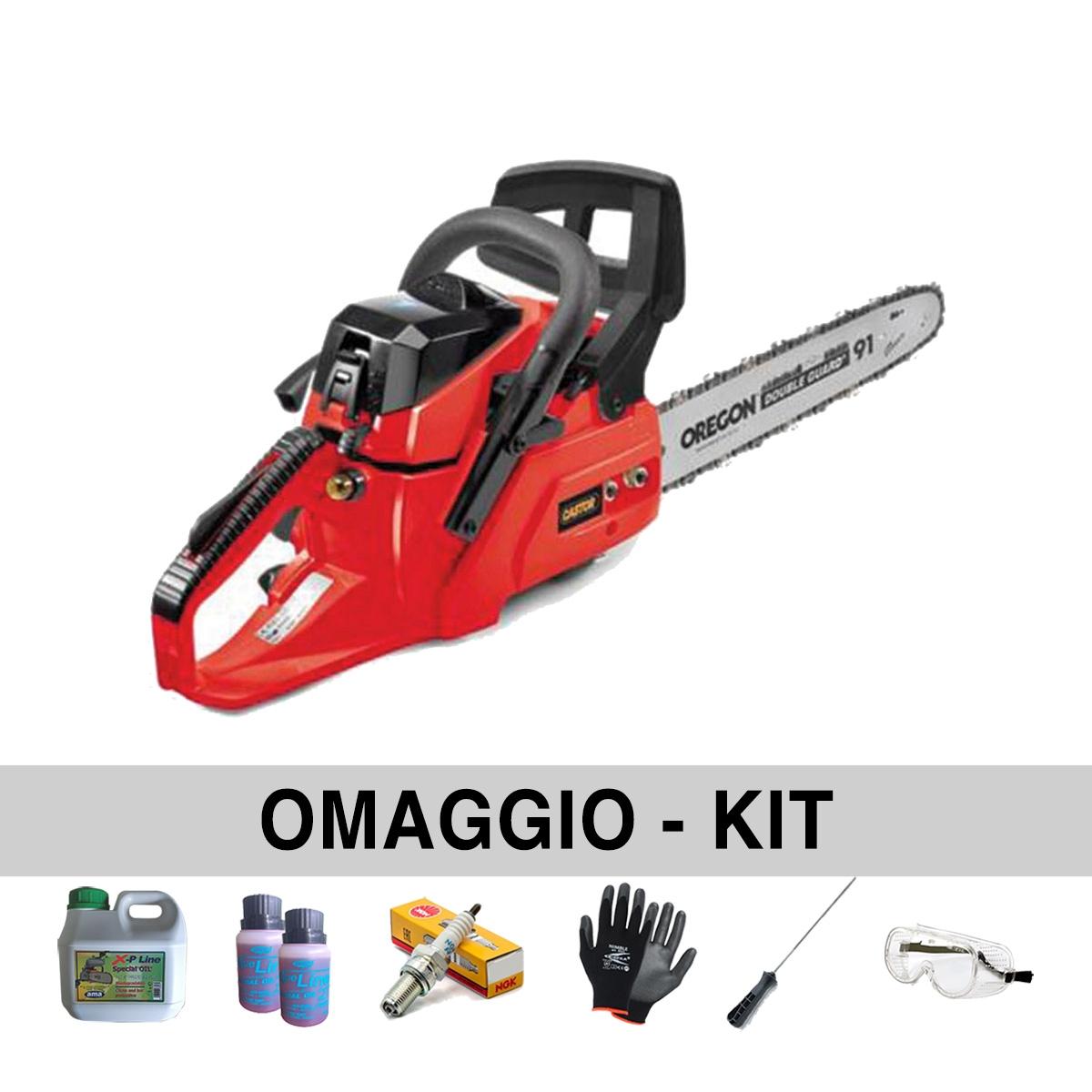 Image of Motosega Castor CP 40 – barra 40 cm - con Omaggi