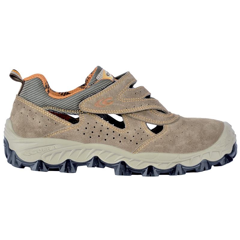 Scarpa - sandalo antinfortunistico Cofra Mod. BENGALA S1 P SRC N°. 39.