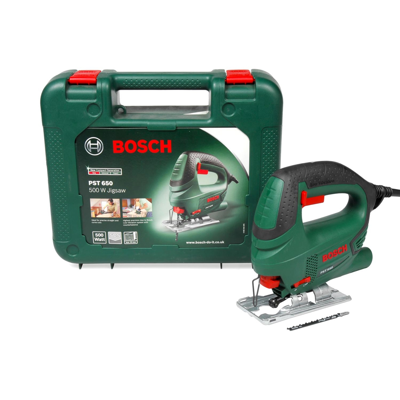 Image of Seghetto alternativo Bosch PST 650 con valigetta