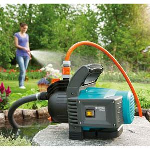 Image of Pompa acqua 3500/4 Classic Gardena con Kit tubi e collegamento