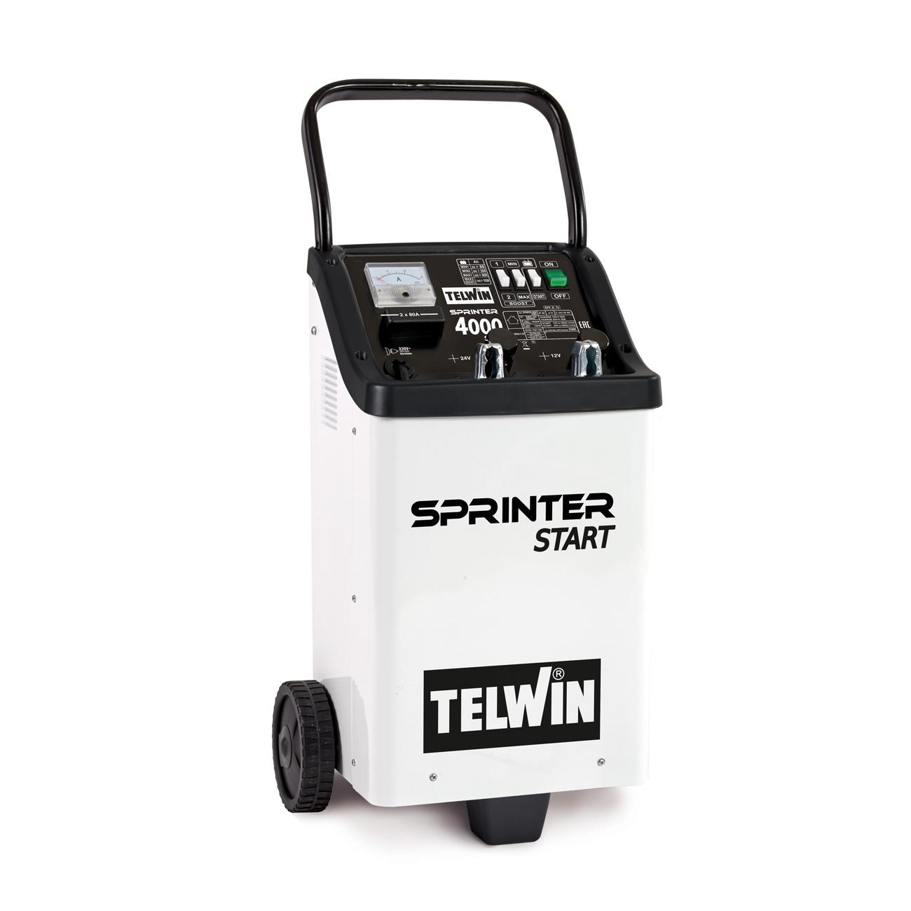 Image of Caricabatterie e avviatore Telwin Sprinter 4000 Start