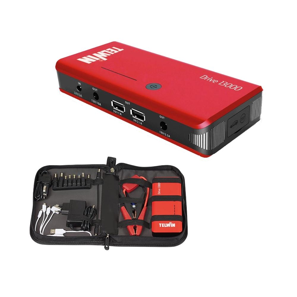 telwin drive 13000 avviatore portatile di emergenza 12v