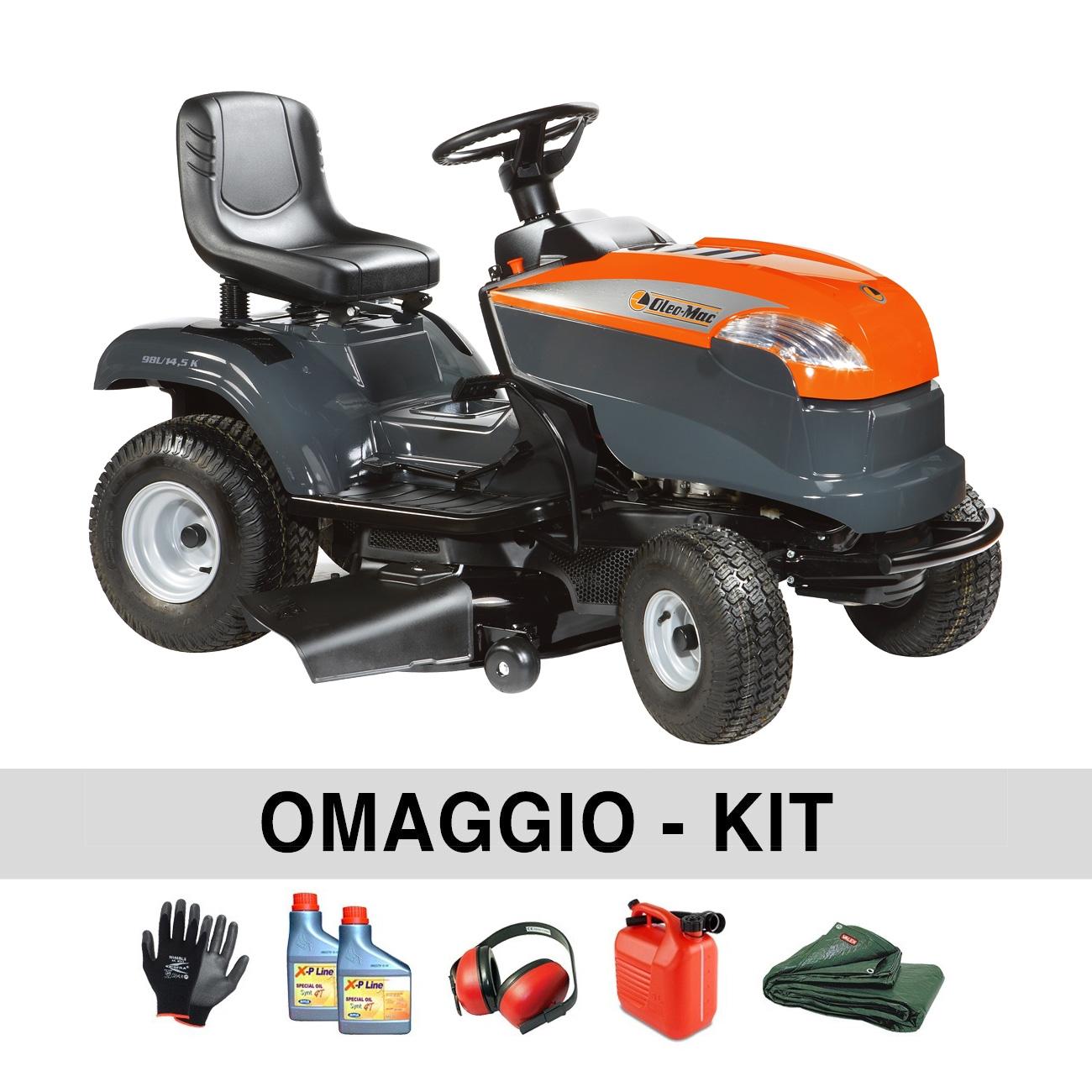 Image of Trattorino tagliaerba OleoMac OM 98 L/14,5 K