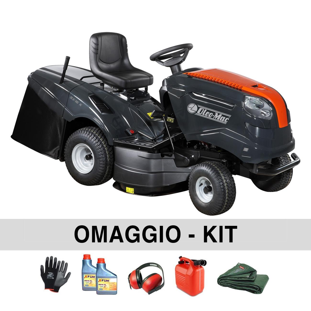 Image of Trattorino tagliaerba Oleo-Mac OM 93/16 K