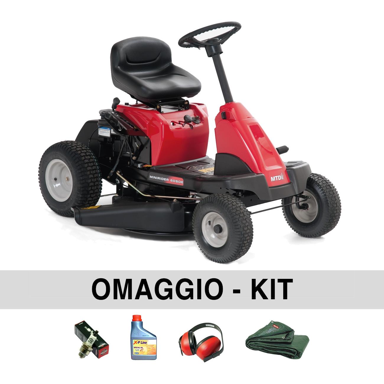 Image of Trattorino Minirider MTD Smart 60 SDE