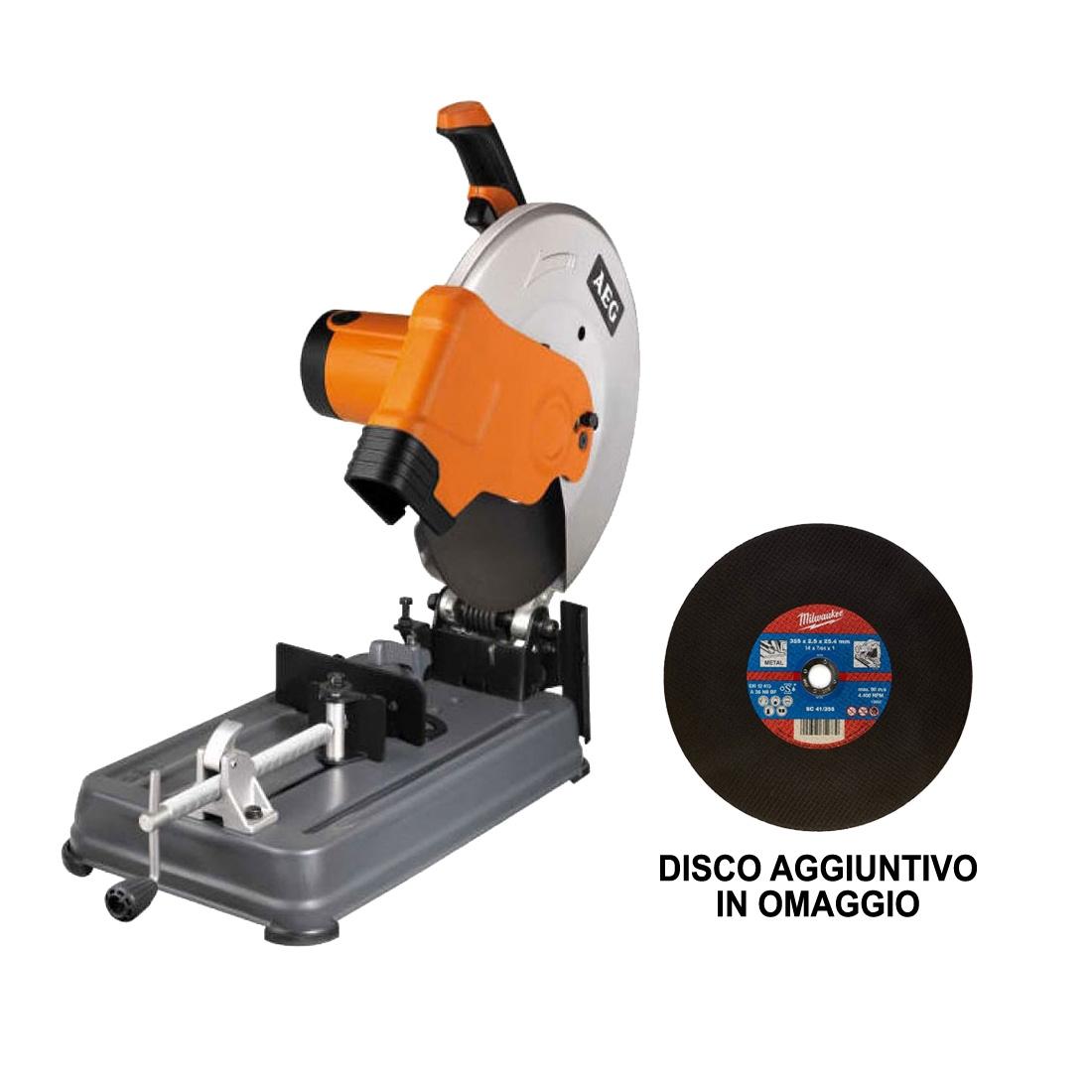 Image of Troncatrice ferro AEG SMT 355 2300W