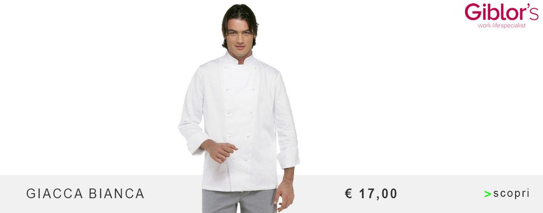 Giacca Cuoco Giblor