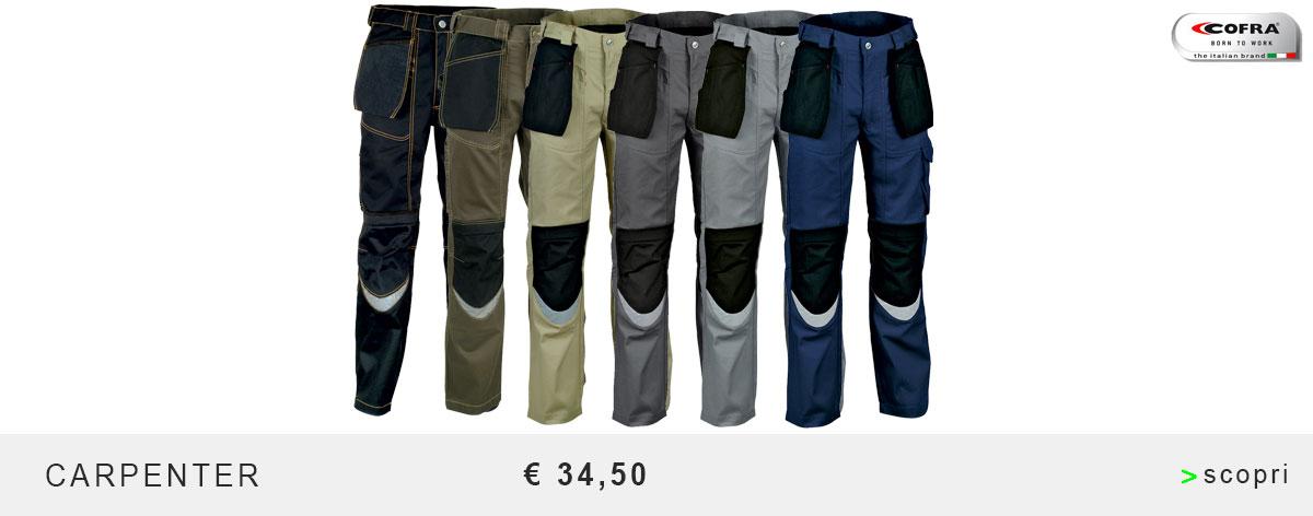 Pantaloni - cofra carpenter