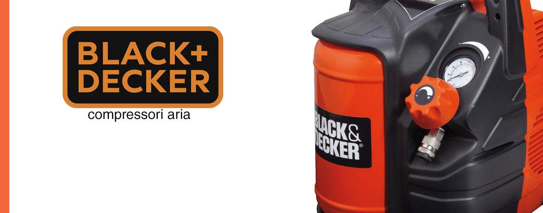 Black and Decker compressori aria