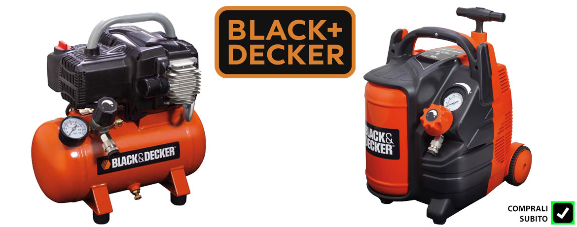 Compressori aria Black and Decker