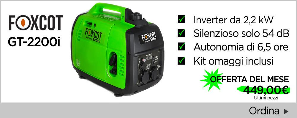Generatori inverter Foxcot 2,2kW