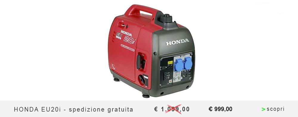 Generatore di corrente benzina tutta la gamma su for Generatore honda eu20i usato