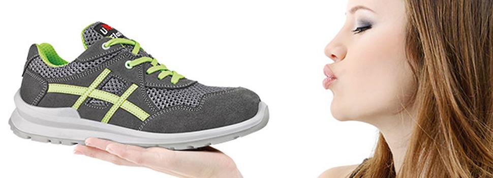 Scarpe antinfortunistiche da donna Diadora, scarpe Dike