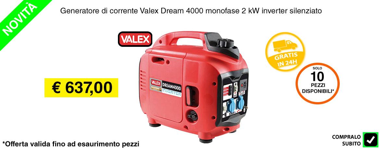 Generatore di corrente - Slide home valex 2kw