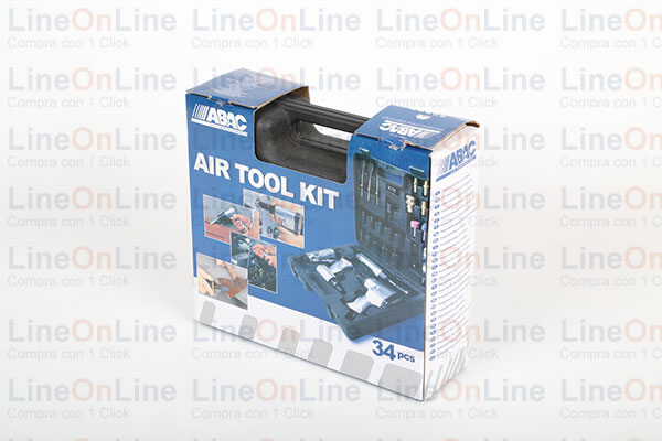 Kit 34 pz. Multiair Abac compressori aria Confezione