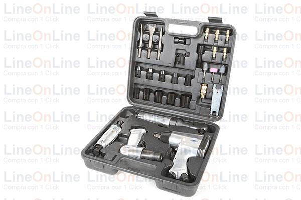 Kit 34 pz. Multiair Abac compressori Confezione valigetta
