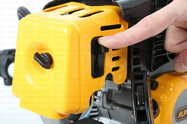 Decespugliatore Alpina TB420 starter