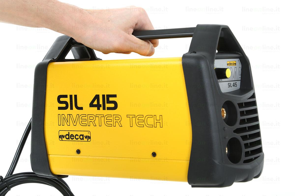 Saldatrice inverter DECA SIL 415 maniglia per trasporto