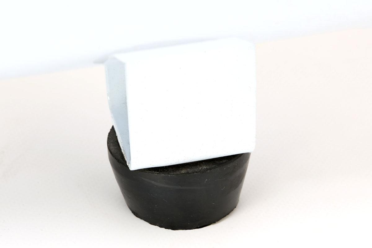 compressore 25 litri foxcot fl24 particolare piedino antivibrazione